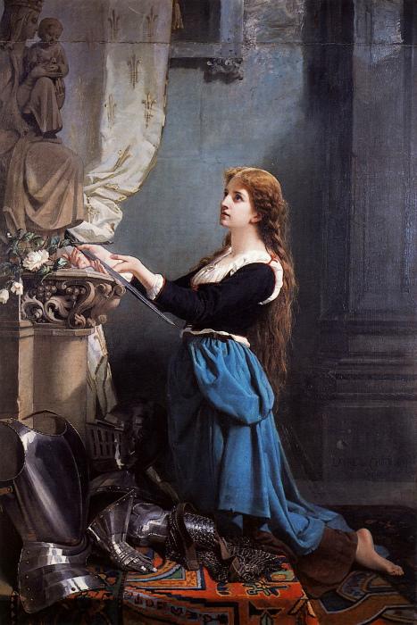 Картина Лоры де Шатильон.
